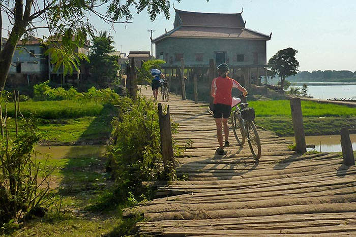 Biking on Backroads Vietnam, Cambodia & Laos River Cruise Bike Tour