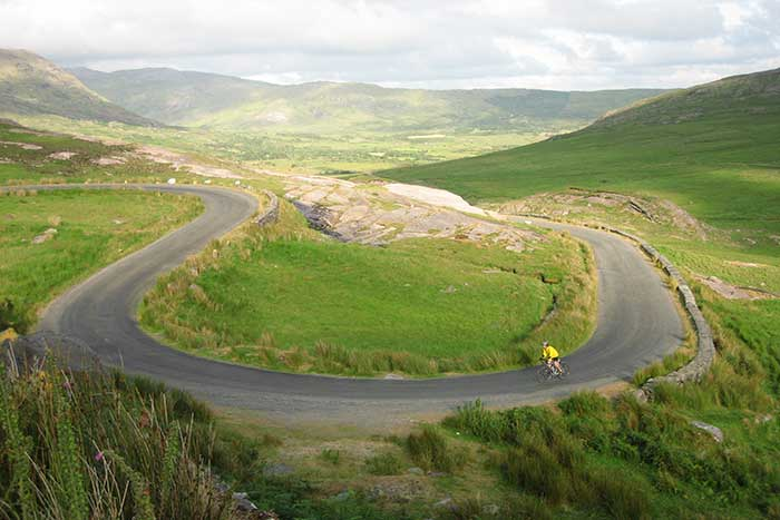 Backroads bike tours in Ireland