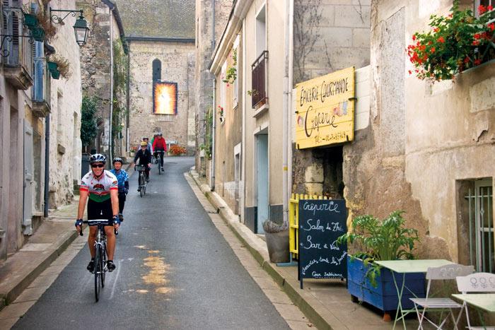 Biking in the Loire Valley, France