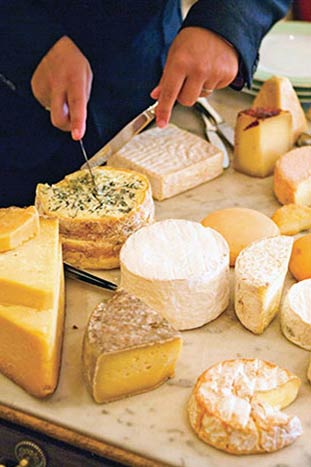 Cheese on Backroads Loire Valley Bike Tour