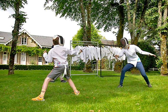 Fencing ni the Loire Valley