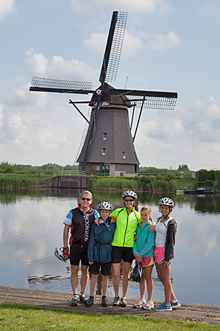 Netherlands & Belgium Family Bike Tour - Younger Kids