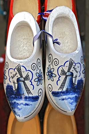 Dutch Wooden Shoes - Netherlands & Belgium Family Bike Tour - Younger Kids