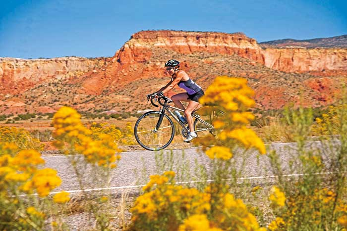 Biking in New Mexico