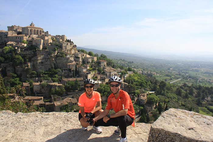 Biking in Gordes, France - Backroads Provence Bike Tour