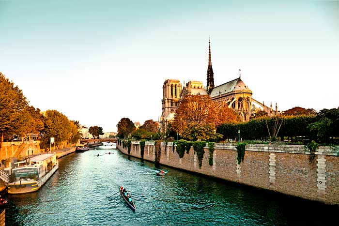 Seine River Cruise Bike Tour