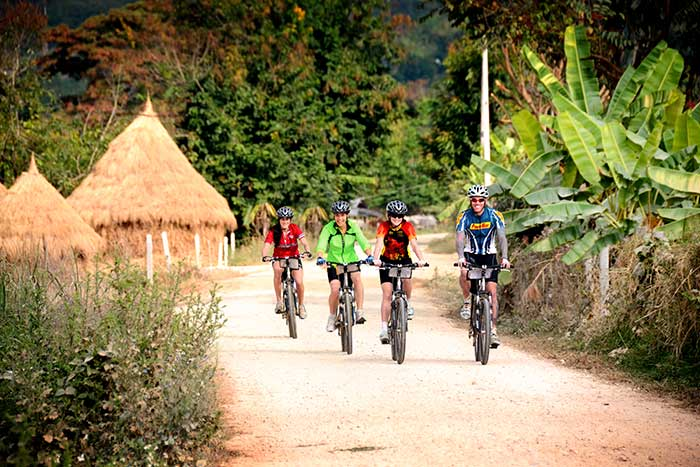 Thailand Family Bike Tour