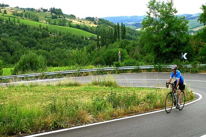 Tuscany cycling tours