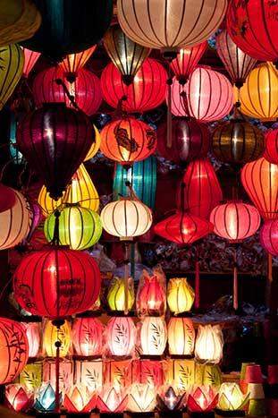 Vietnamese market - Backroads Vietnam & Cambodia Family Bike Tour