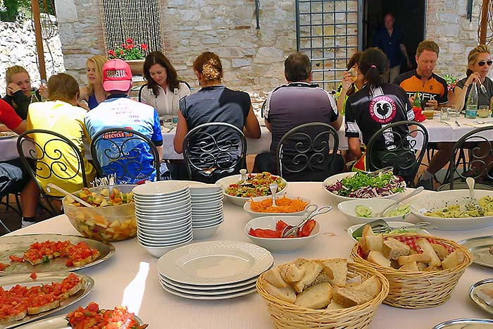 Italian food - Backroads Parma to Verona Family Breakaway Bike Tour