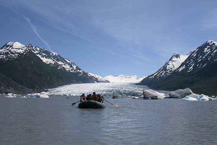 Rafting - Prince William Sound, Alaska
