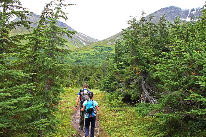 Family hiking - Backroads Prince William Sound to Denali Family Multisport Tour