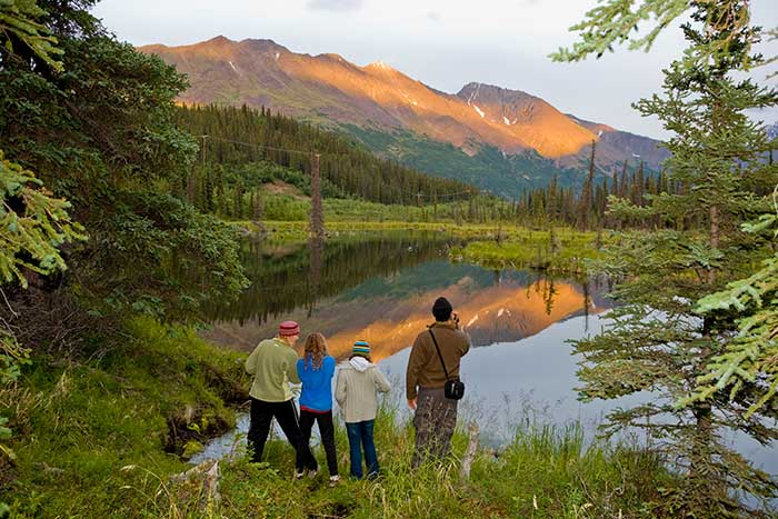 Backroads Prince William Sound to Denali Family Multisport Tour