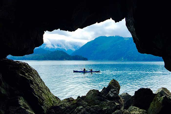 Kayaking Alaska's Kenai Peninsula Multisport Adventure Tour