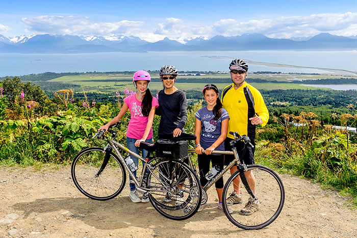 Biking - Alaska's Kenai Peninsula Family Breakaway Multisport Adventure Tour