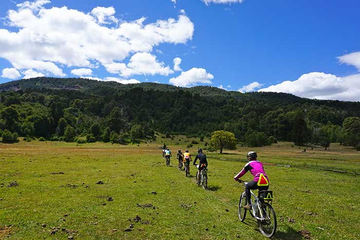 Biking in Argentina's Lake District