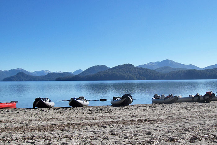 Kayaks - Argentina's Lake District Multisport Adventure Tour