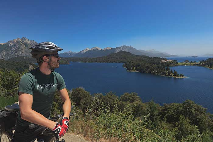 Cycling - Backroads Argentina's Lake District Family Breakaway Multisport Adventure Tour