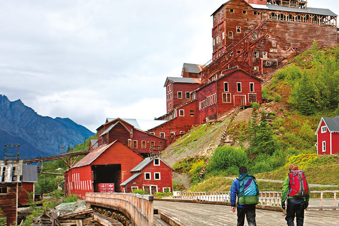 Kennecott Mines National Historic Landmark, Wrangell-St. Elias National Park, Alaska