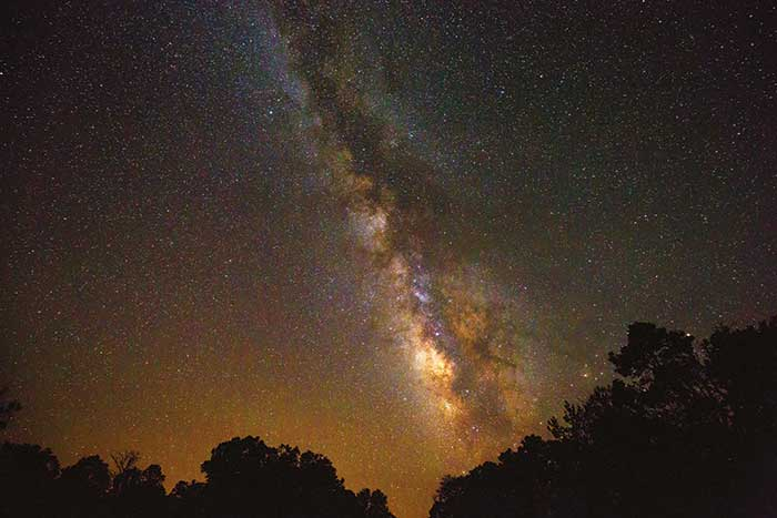Starry sky- Backroads Bryce, Zion & Grand Canyon Multisport Adventure Tour