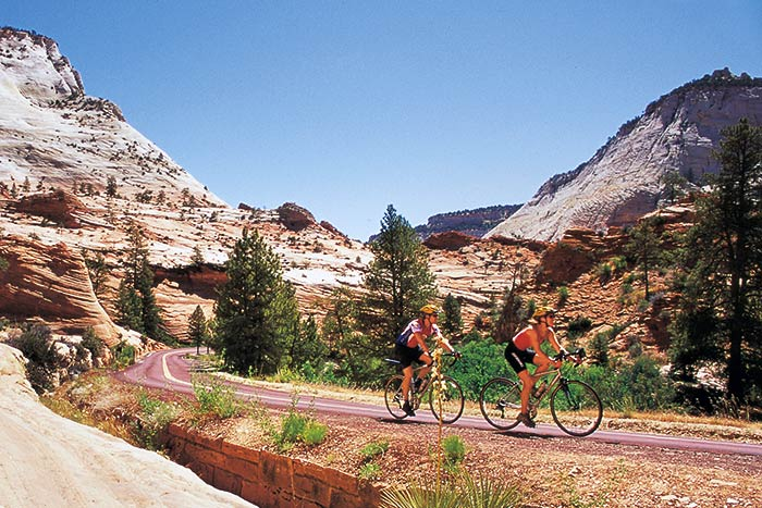Biking - Backroads Bryce, Zion & Grand Canyon Multisport Adventure Tour
