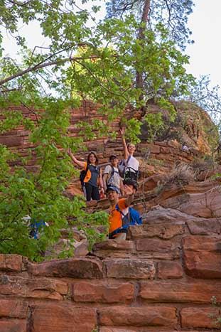 Walters Wiggles Family Hike - Zion National Park, Utah