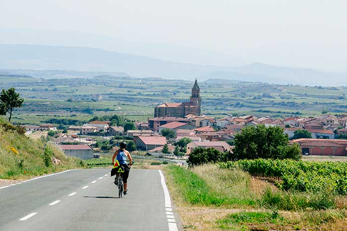 Biking on our Basque Country Family Multisport Adventure Tour
