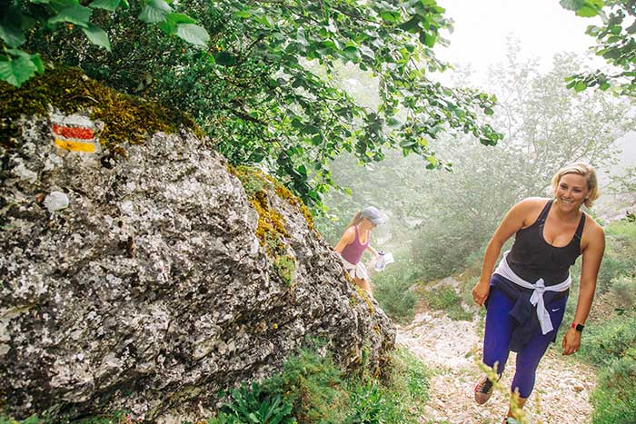 Hiking on  Basque Country Family Breakaway Multisport Adventure Tour