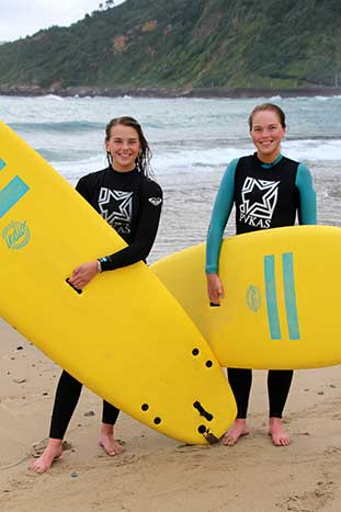 Surfing on Backroads Basque Country Family Multisport Adventure Tour