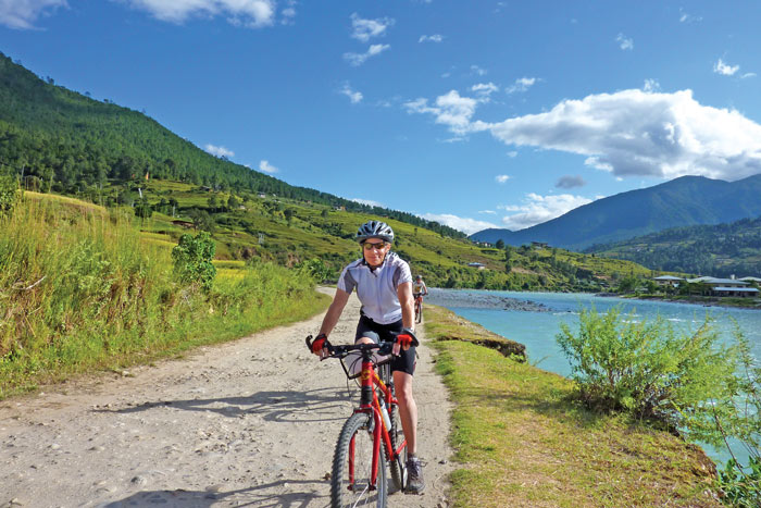 Biking - Backroads Bhutan Multisport Adventure Tours