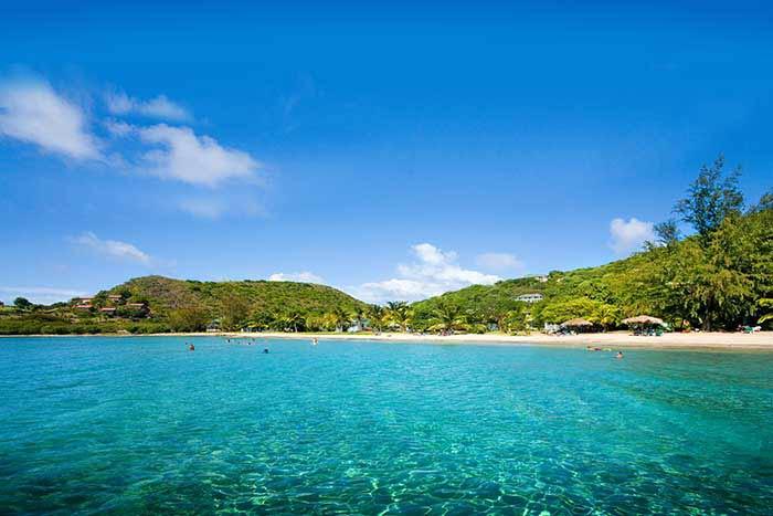 Beach on Caribbean Multisport Adventure Tour