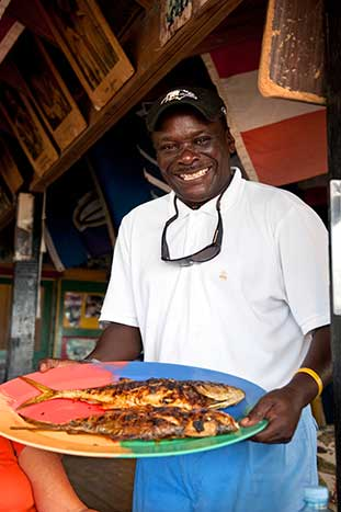Caribbean food - Backroads Caribbean Multi-Adventure Tour