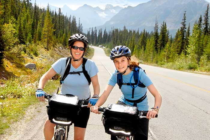 Biking - Canadian Rockies Family Multi-Adventure Camping Tour - Teens & Kids