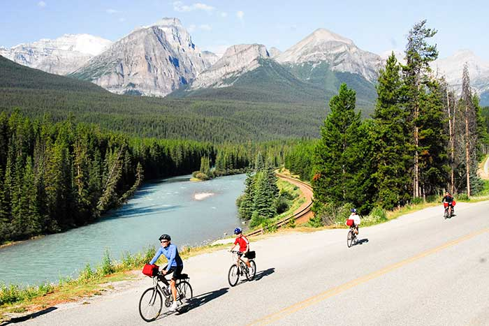 Bow Valley Parkway Biking - Canadian Rockies Family Multi-Adventure Camping Tour - Teens & Kids