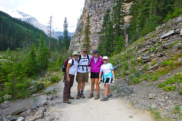 Hiking - Canadian Rockies Family Multi-Adventure Camping Tour - Teens & Kids