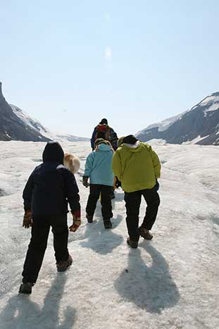Glacier Hiking - Canadian Rockies Family Multi-Adventure Camping Tour - Teens & Kids