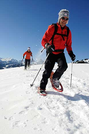 Snowshoeing - Canadian Rockies Family Snow Adventure Tour – Older Teens & 20s