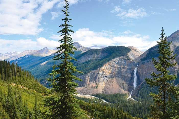 Takakkaw Falls, Yoho NP, Canadian Rockies