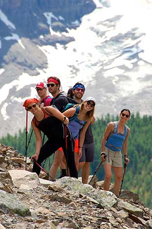 Family Hiking in the Canadian Rockies