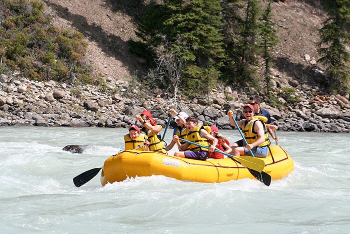 Whitewater Rafting - Canadian Rockies Family Multi-Adventure Tour - Teens & Kids