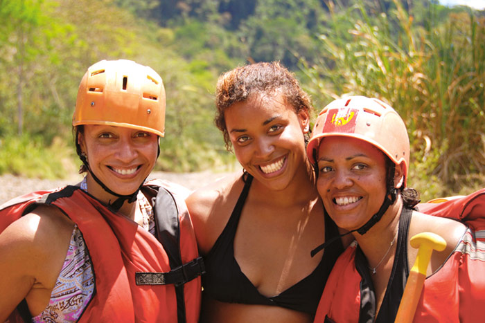 Whitewater Rafting, Costa Rica