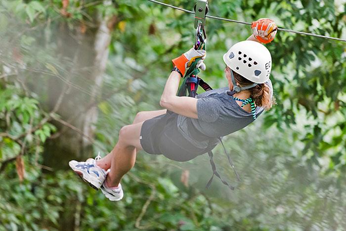 Ziplinging - Costa Rica Family Multi-Adventure Tour