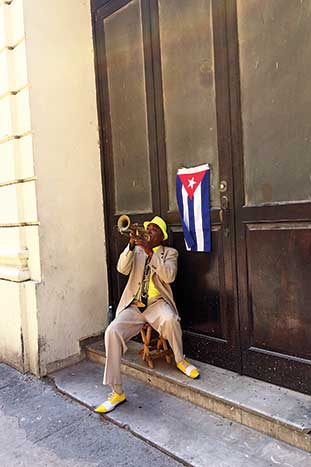 Musician - Cuba People-to-People Multisport Tour