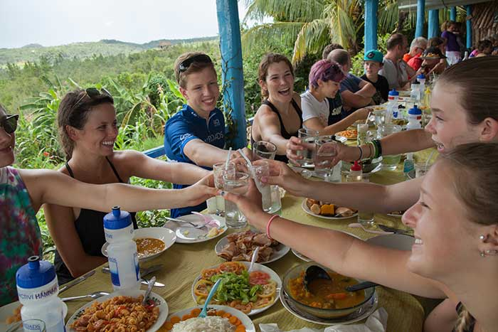 Dining - Cuba People-to-People Family Breakaway Multisport Tour