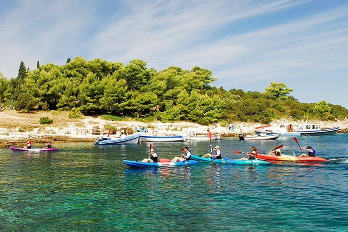 Kayaking - Croatia Multi-Adventure Tour