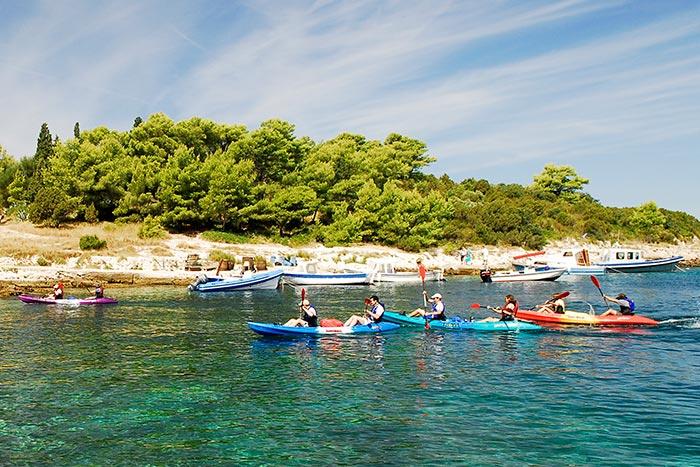 Kayaking - Croatia Multi-Adventure Tour