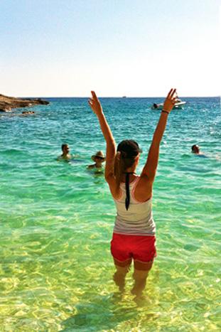 Swimming - Croatia Multi-Adventure Tour