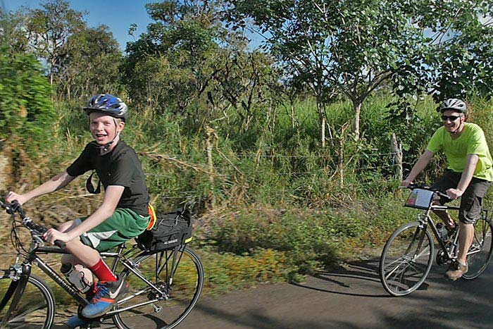 Biking - Galapagos & Andes Family Multi-Adventure Tour