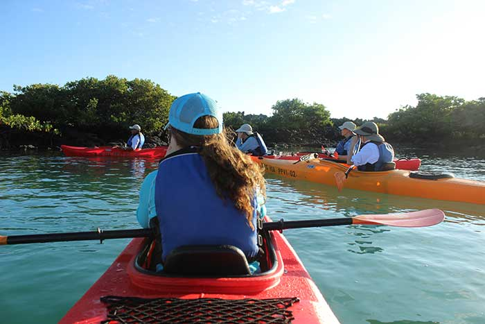 Kayaking - Galapagos & Andes Family Multi-Adventure Tour