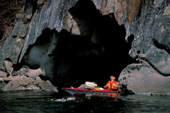 Kayaking - Backroads BC Gulf Islands Bike & Hiking Tours